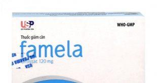 Thuốc famela 120mg là thuốc gì? có tác dụng gì? giá bao nhiêu tiền?