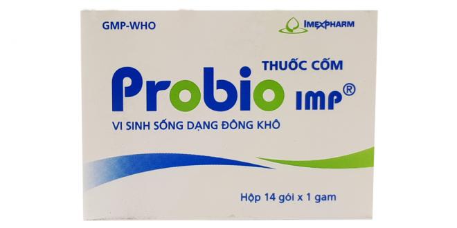 Thuốc probio imp là thuốc gì? có tác dụng gì? giá bao nhiêu tiền?