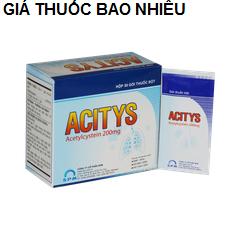 Thuốc acitys 200 là thuốc gì? có tác dụng gì? giá bao nhiêu tiền?