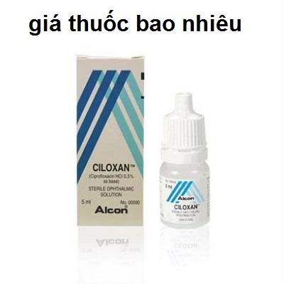 Thuốc ciloxan 5ml là thuốc gì? có tác dụng gì? giá bao nhiêu tiền?