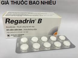 Thuốc regadrin B 200 là thuốc gì? có tác dụng gì? giá bao nhiêu tiền?