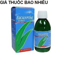 Thuốc Eucalyptine Le Brun là thuốc gì? có tác dụng gì? giá bao nhiêu tiền?
