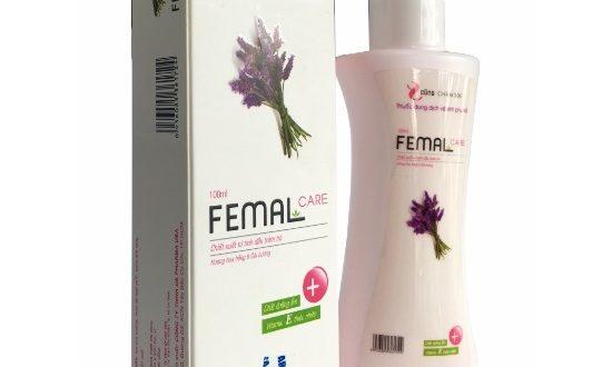 Dung dịch femal care 100ml là thuốc gì? có tác dụng gì? giá bao nhiêu tiền?