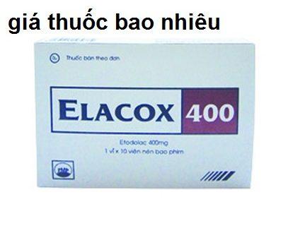Thuốc elacox 400 là thuốc gì? có tác dụng gì? giá bao nhiêu tiền?