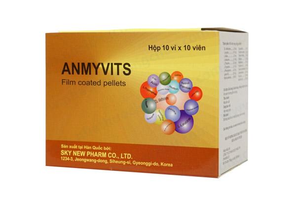 Thuốc anmyvits là thuốc gì? có tác dụng gì? giá bao nhiêu tiền?