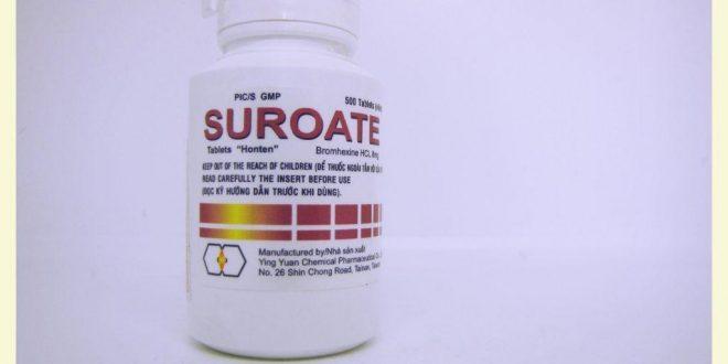 Thuốc Suroate Tablets Honten 8mg là thuốc gì? có tác dụng gì? giá bao nhiêu tiền?