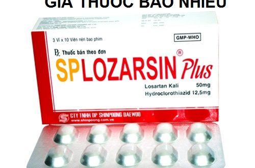 Thuốc splozarsin plus là thuốc gì? có tác dụng gì? giá bao nhiêu tiền?