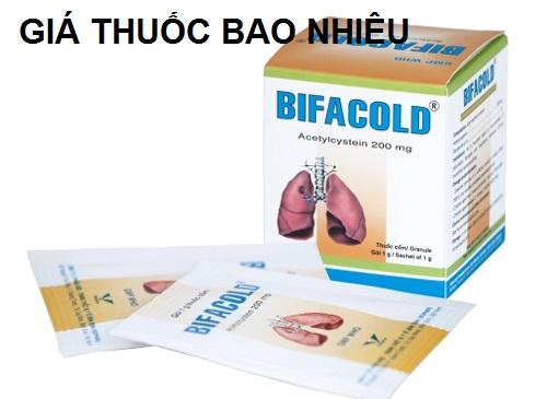 Thuốc bifacold 200 là thuốc gì? có tác dụng gì? giá bao nhiêu tiền?