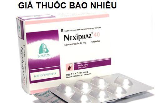 Thuốc nexipraz 40 là thuốc gì? có tác dụng gì? giá bao nhiêu tiền?