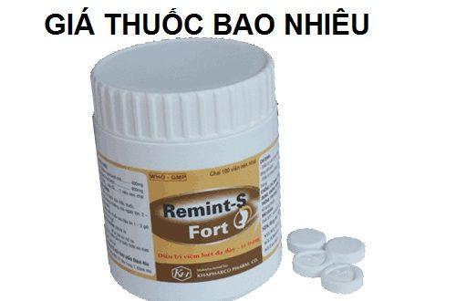 Thuốc remint s fort là thuốc gì? có tác dụng gì? giá bao nhiêu tiền?