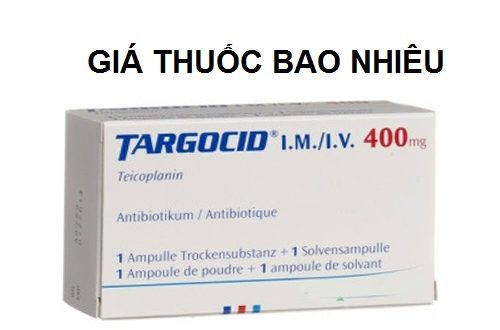 Thuốc targocid 400 là thuốc gì? có tác dụng gì? giá bao nhiêu tiền?