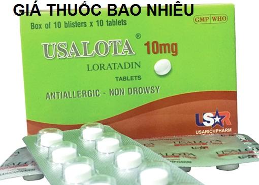 Thuốc usalota 10 là thuốc gì? có tác dụng gì? giá bao nhiêu tiền?