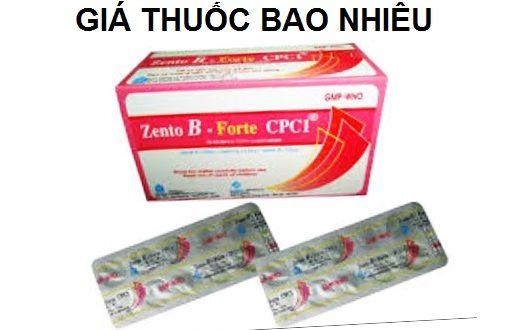 Thuốc Zento B Forte CPC1 là thuốc gì? có tác dụng gì? giá bao nhiêu tiền?