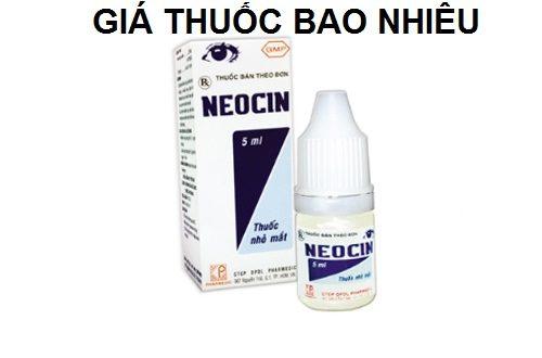Thuốc neocin 5ml là thuốc gì? có tác dụng gì? giá bao nhiêu tiền?