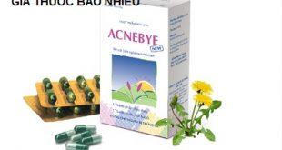 Thuốc acnebye new là thuốc gì? có tác dụng gì? giá bao nhiêu tiền?