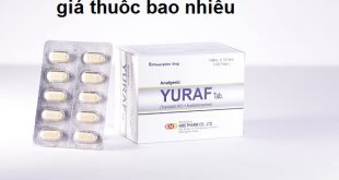 Thuốc yuraf tab là thuốc gì? có tác dụng gì? giá bao nhiêu tiền?
