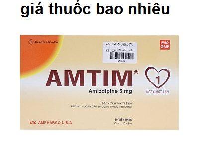Thuốc amtim 5 là thuốc gì? có tác dụng gì? giá bao nhiêu tiền?