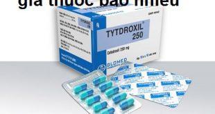 Thuốc tytdroxil 250 là thuốc gì? có tác dụng gì? giá bao nhiêu tiền?