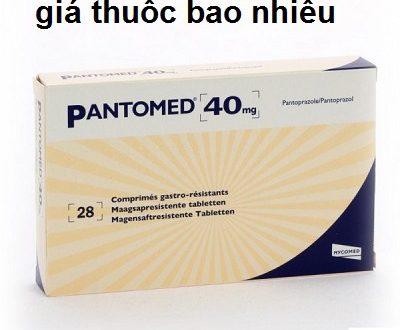 Thuốc pantomed 40 là thuốc gì? có tác dụng gì? giá bao nhiêu tiền?