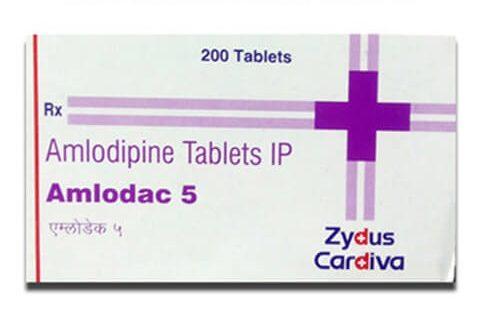 Thuốc amlodac 5 là thuốc gì? có tác dụng gì? giá bao nhiêu tiền?