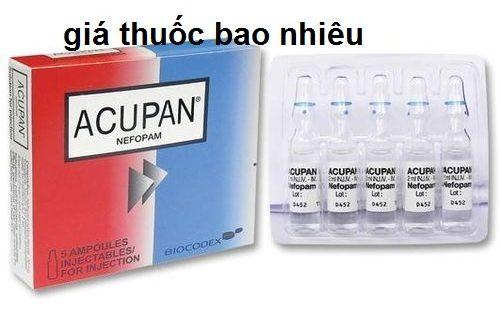 Thuốc acupan 2ml là thuốc gì? có tác dụng gì? giá bao nhiêu tiền?