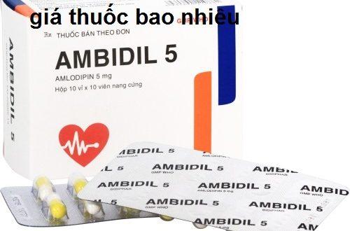 Thuốc ambidil 5 là thuốc gì? có tác dụng gì? giá bao nhiêu tiền?
