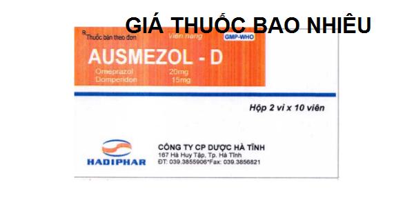 Thuốc ausmezol D là thuốc gì? có tác dụng gì? giá bao nhiêu tiền?