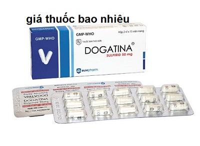 Thuốc dogatina 50 là thuốc gì? có tác dụng gì? giá bao nhiêu tiền?