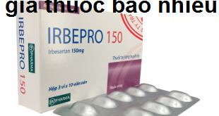 Thuốc irbepro 150 là thuốc gì? có tác dụng gì? giá bao nhiêu tiền?