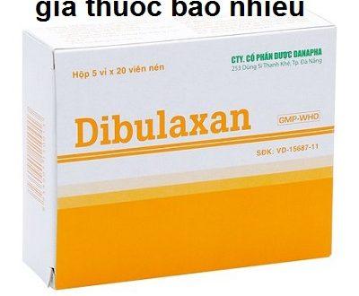 Thuốc dibulaxan danapha là thuốc gì? có tác dụng gì? giá bao nhiêu tiền?