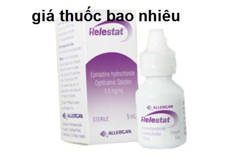 Thuốc relestat 5ml là thuốc gì? có tác dụng gì? giá bao nhiêu tiền?