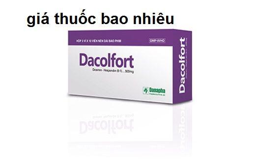 Thuốc dacolfort 500 là thuốc gì? có tác dụng gì? giá bao nhiêu tiền?