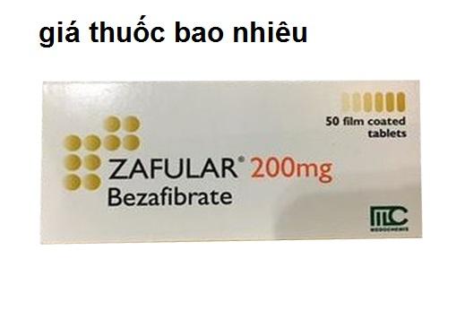 Thuốc zafular 200 là thuốc gì? có tác dụng gì? giá bao nhiêu tiền?