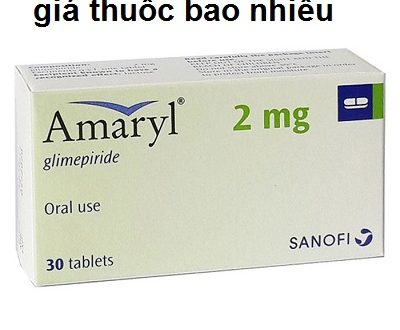Thuốc amaryl 2mg là thuốc gì? có tác dụng gì? giá bao nhiêu tiền?