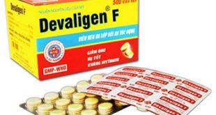 Thuốc devaligen f là thuốc gì? có tác dụng gì? giá bao nhiêu tiền?