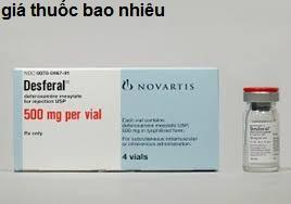 Thuốc desferal 500 là thuốc gì? có tác dụng gì? giá bao nhiêu tiền?