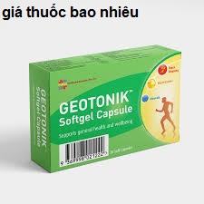 Thuốc geotonik là thuốc gì? có tác dụng gì? giá bao nhiêu tiền?