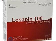 Thuốc losapin 100 là thuốc gì? có tác dụng gì? giá bao nhiêu tiền?