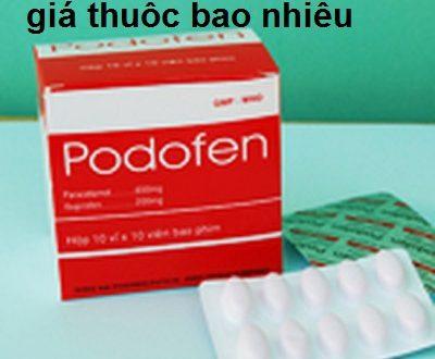 Thuốc podofen 650 là thuốc gì? có tác dụng gì? giá bao nhiêu tiền?