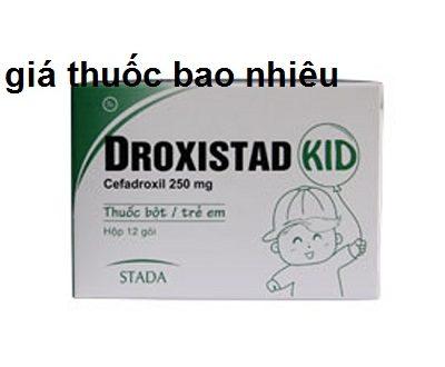 Thuốc droxistad 250 là thuốc gì? có tác dụng gì? giá bao nhiêu tiền?