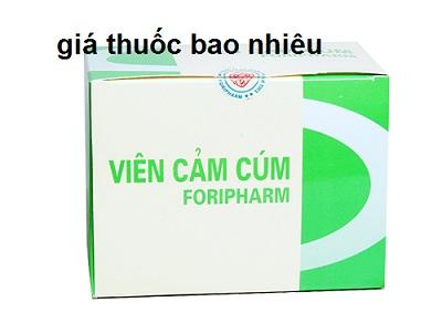 Viên cảm cúm Foripharm là thuốc gì? có tác dụng gì? giá bao nhiêu tiền?