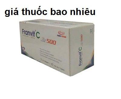 Thuốc franvit c 500 là thuốc gì? có tác dụng gì? giá bao nhiêu tiền?