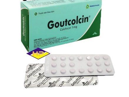 Thuốc goutcolcin 1mg là thuốc gì? có tác dụng gì? giá bao nhiêu tiền?