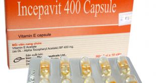 Thuốc incepavit 400 capsule là thuốc gì? có tác dụng gì? giá bao nhiêu tiền?