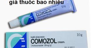Thuốc comozol 10g là thuốc gì? có tác dụng gì? giá bao nhiêu tiền?