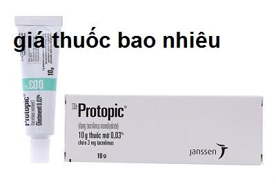 Thuốc protopic 0.03% là thuốc gì? có tác dụng gì? giá bao nhiêu tiền?