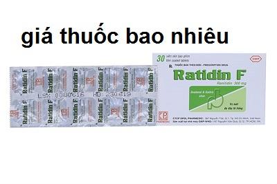 Thuốc ratidin F 300 là thuốc gì? có tác dụng gì? giá bao nhiêu tiền?