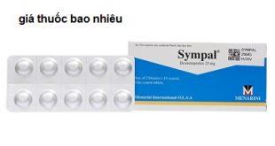 Thuốc sympal 25 là thuốc gì? có tác dụng gì? giá bao nhiêu tiền?