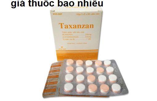 Thuốc taxanzan 325 là thuốc gì? có tác dụng gì? giá bao nhiêu tiền?