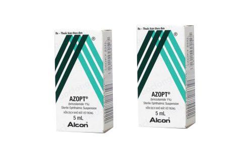 Thuốc azopt 5ml là thuốc gì? có tác dụng gì? giá bao nhiêu tiền?